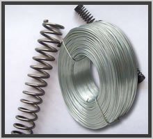 Galvanized Carbon Steel Spring wire for making mattresses and bonnel spring